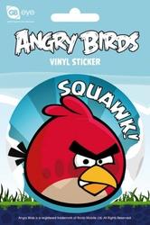 Angry Birds - Czerwony Ptak - naklejka