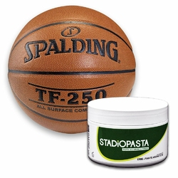 Stadiopasta - maść lecznicza na kontuzje 250 ml + Piłka Spalding TF-250 IndoorOutdoor