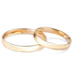 Staviori obrączka. żółte złoto 0,585. szerokość 3 mm.   wykończenie: gładkie     cena za 1 szt.