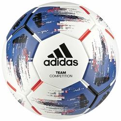 adidas Piłka Nożna TEAM Competition CZ2232 r 4,5 - Biały || Niebieski || Czarny || Czerwony