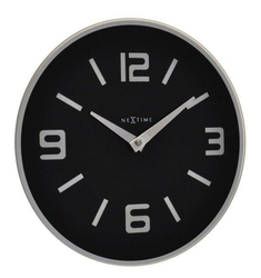 Zegar ścienny Shuwan czarny