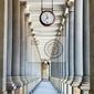 Fototapeta kolumnada w karlowych warach