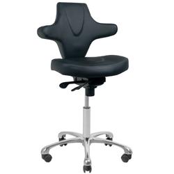Krzesło kosmetyczne azzurro special 052 czarne