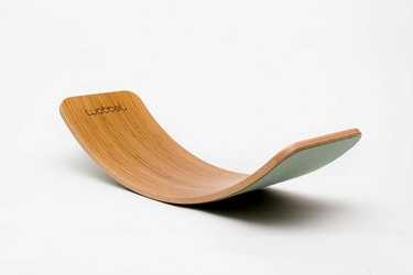 Deska do balansowania Original Bamboo z filcem, Forest, Wobbel - forest