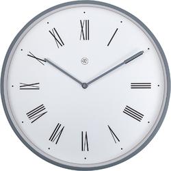 Zegar ścienny rzymskie cyfry na białym tle Duke nXt 40 cm 7329 WI
