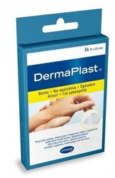 Dermaplast plaster na oparzenia 45mm x 65mm x 3 sztuki