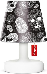Abażur cooper cappie do lampy edison the petit skull black