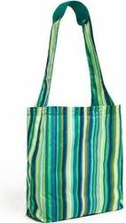 Torba na zakupy reusable shopper emerald stripe