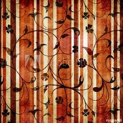 Obraz na płótnie canvas trzyczęściowy tryptyk retro tapeta