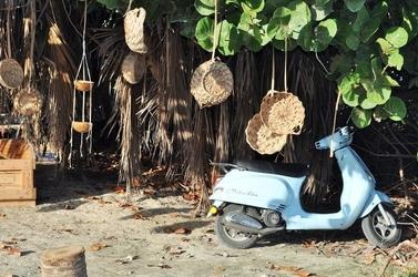 Fototapeta na ścianę stojący scooter fp 1232