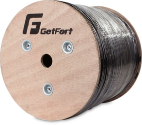 KABEL GETFORT KAT.5E FUTP UV SUCHY SKRĘTKA 305M - Szybka dostawa lub możliwość odbioru w 39 miastach