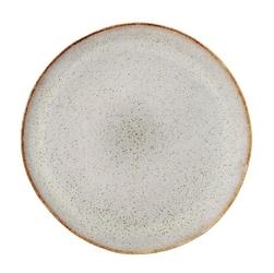 Talerz płaski Sandrine jasnoszary 22 cm
