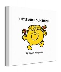 Little miss sunshine - obraz na płótnie