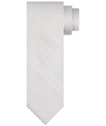 Jedwabny jasnobeżowy krawat profuomo