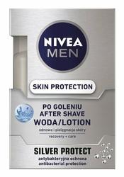 Nivea For Men Silver Protect, woda po goleniu, 100ml