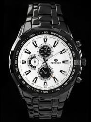 Zegarek meski PERFECT - MILTON - blackwhite zp112e