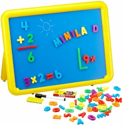 Tablica Magnetyczna - duża dwustronna tablica dla dzieci