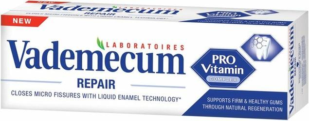 Vademecum Pro Vitamin Repair, pasta do zębów, 75 ml