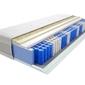 Materac kieszeniowy kano 150x190 cm miękki średnio twardy 2x visco memory lateks