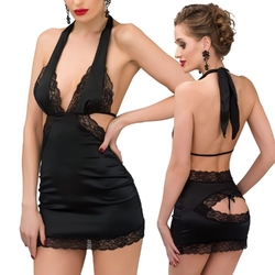 Sensual chemise rosy, black : rozmiar - lxl