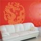 Smok chiński 853 naklejka