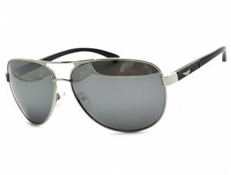 Pilotki polaryzacyjne okulary aviator lustrzane pol-52