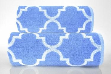 Ręcznik Greno Decor Niebieski - niebieski