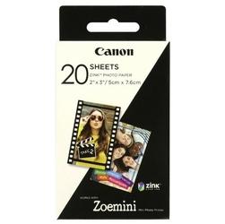 Canon ZINK Photo Paper, foto papier, połysk, Zero Ink, biały, 5x7,6cm, 2x3, 20 szt., 3214C002, termo,bez marginesu