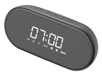 Głośnik bluetooth baseus encok e09 4w1 budzik radio zegar black