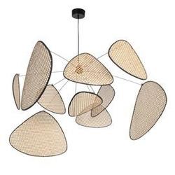 Market set :: lampa wisząca screen beżowa rozm. xl szer. 110 cm