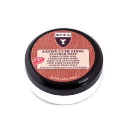 Mydło regenerujące do czyszczenia skór tapicerki saddle soap avel 100 ml
