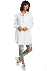 Koszula - tunika biała b086