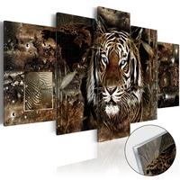 Obraz na szkle akrylowym - strażnik dżungli glass