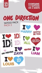 One direction pack 3 - tatuaż
