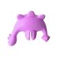 zestaw nakładka na kubek ze słomką smily mia - dinozaur fioletowy