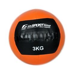 Piłka lekarska 3 kg wallball - insportline - 3 kg