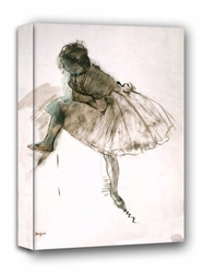Study of a ballet dancer, edgar degas - obraz na płótnie