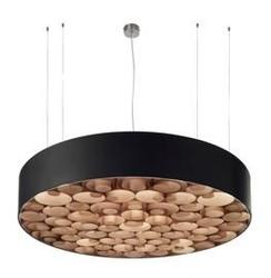 Lzf :: lampa wisząca spiro z akrylem duża ze ściemniaczem ø96cm