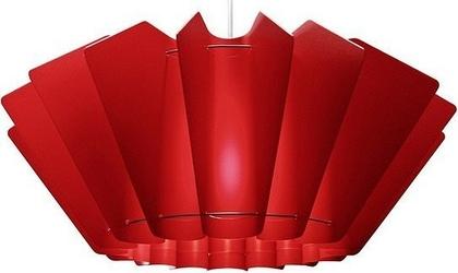 Lampa ordinary czerwona
