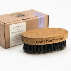 Captain fawcett dębowy kartacz szczotka do brody włosie dzika