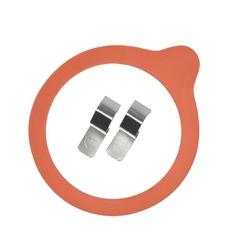 Uszczelka i spinki szt. 2 do słoika Weck 8 cm