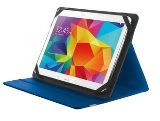 Trust primo folio case with stand for 10 tablets - blue