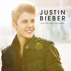 Justin bieber - oficjalny kalendarz 2014