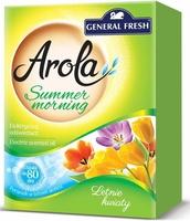Arola, General Fresh Electric, Summer Morning Letnie Kwiaty, elektryczny odświeżacz powietrza, zapas