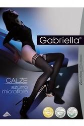 Pończochy samonośne gabriella 216 calze azuro nero
