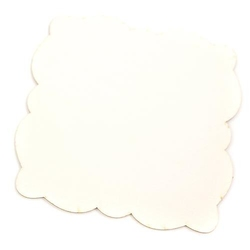 Kwadratowa baza dekoracyjna 10x10 cm