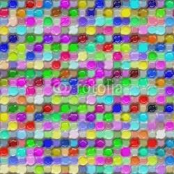 Obraz na płótnie canvas trzyczęściowy tryptyk Kolorowy wzór wosku z tworzywa sztucznego