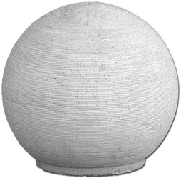 Fontanna ogrodowa betonowa kula 38cm