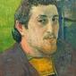 Self-portrait dedicated to carrière, paul gauguin - plakat wymiar do wyboru: 40x50 cm