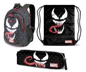 Zestaw Plecak + Worek + Piórnik Marvel Venom - VN000ONIHU0 006